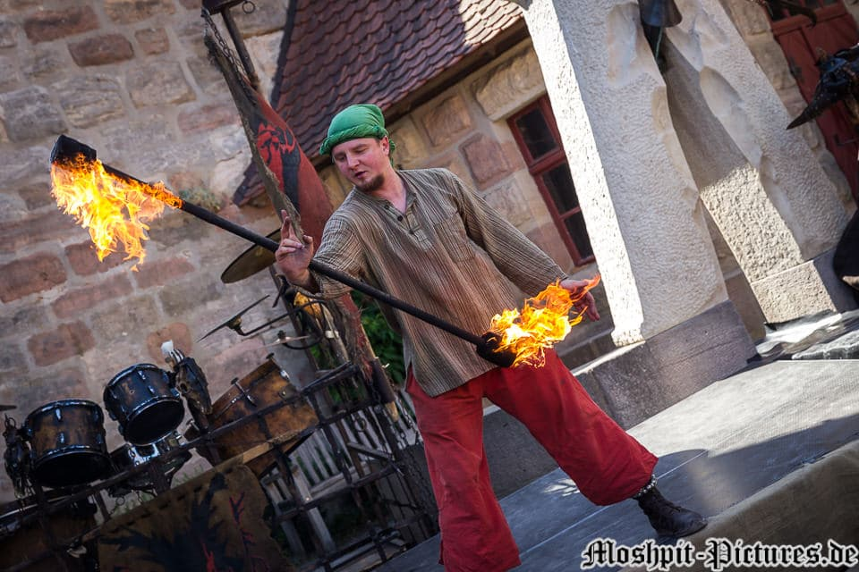 Impressionen Feuertanz Festival 2017