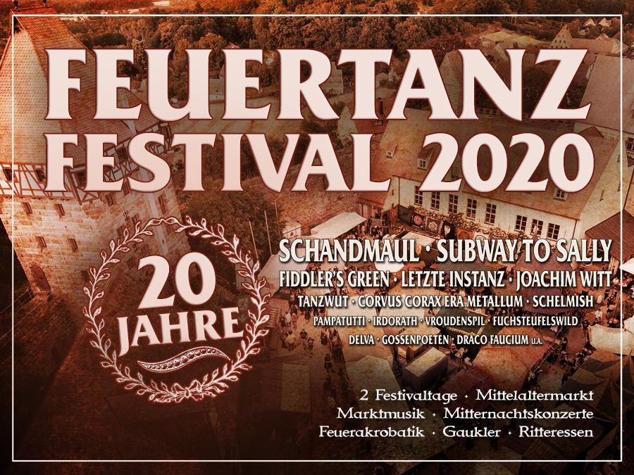 Feuertanz Festival 2020 Flyer